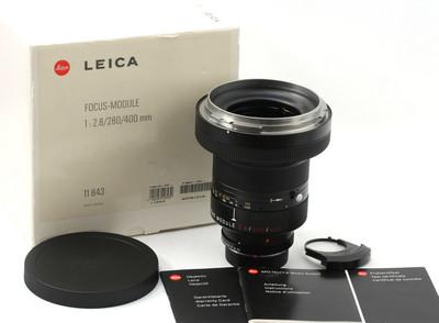 Leica/徕卡 R 280/400/2.8 ROM 1X 对焦组 完美带包装 11843