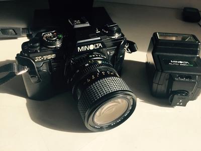 低价转让家庭使用美能达X700相机