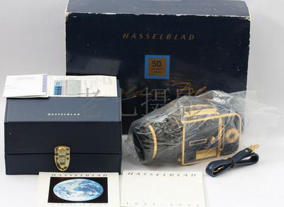 哈苏 Hasselblad 503CX蓝皮金机 Golden Blue 50周年纪念 L00789