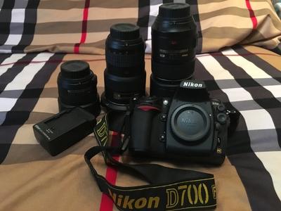 自用尼康 D700相机