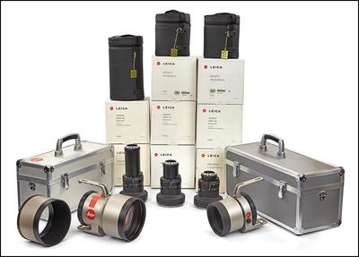 徕卡Leica R Module 长焦组合系列,5件套+3桶+2箱 全带包装