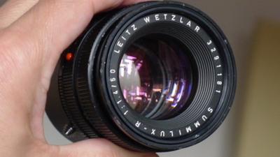 徕卡 Leica R 50 1.4 E55 镜片很好,特价6600元,就这几天