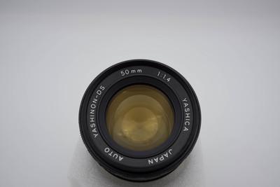 YASHICA AUTO YASHINON-DS 50MM F1.4 M42口镜头