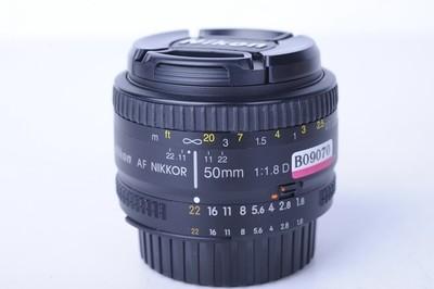 尼康 尼克尔50mm f/1.8D