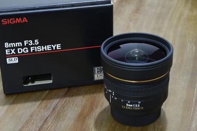 适马8mm F3.5 EX DG FISHEYE