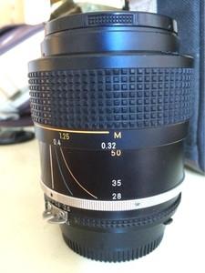 尼康AI 28-50 F3.5恒定光圈 稀有老镜头 经典牛头