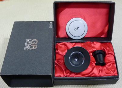 理光 GR 28/2.8 黑色带全套包装 送福伦达M接环