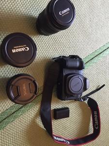 佳能 5D Mark II 相机 镜头 三角脚等其他一起.