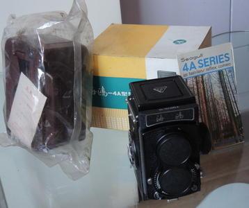 收藏级——海鸥4A双反相机