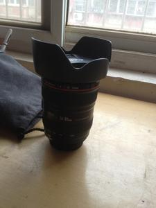出售个人14年产港水佳能99.99新24-105 F4 IS镜头
