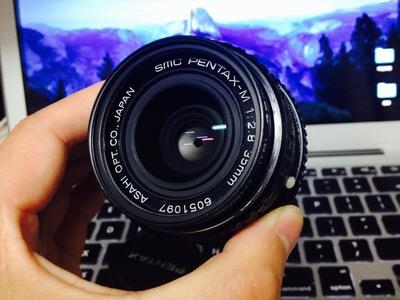 宾得 Pentax-M 35mm f2.8 定焦 手动镜头 老镜头 成色完美