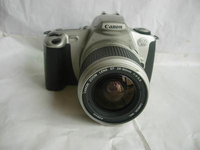 较新佳能EOS300单反相机带28--90mm镜头