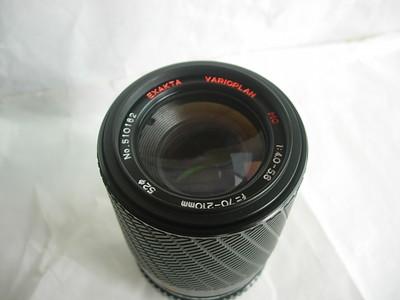 爱克山泰70--210mm金属制造镜头,MD卡口,可配各种数码相机