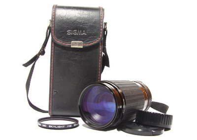 二手 适马 SIGMA 75-300mm F4.5-5.6 微距1:4 尼康口 ai口