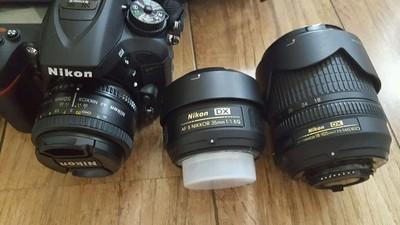 [长沙]98新尼康 D7100+2只定焦镜头(50 1.8D/35 1.8G)