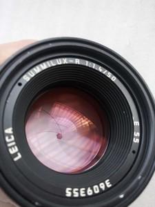 Leica Summilux-R 50 mm f/ 1.4   方字  36号段