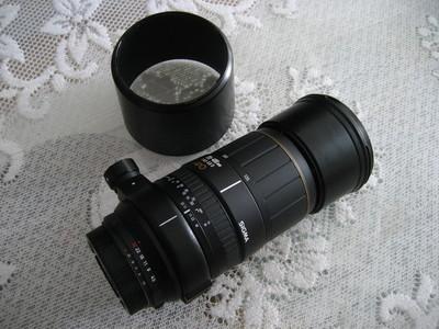 出Sigma(适马)135-400mm/4.5-5.6D APO镜头