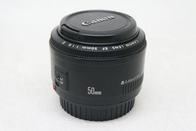 95新 佳能 50mm f/1.8 II