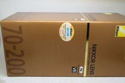 95新 尼康AF-S 70-200MM F/4G ED VR 带包装
