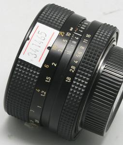 98新【Rollei 禄莱】 HFT 50/1.8 已改M42口(Q1465)