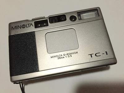 Minolta TC-1 自用装备,升级设备甩卖