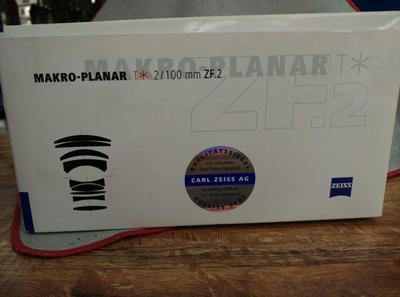 卡尔·蔡司 Planar T* 100mm f/2 ZF.2