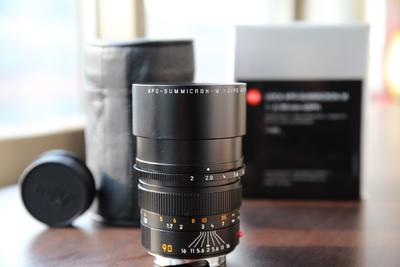 徕卡 Leica APO-Summicron-M 90 mm f/ 2 Asph 近全新箱说全
