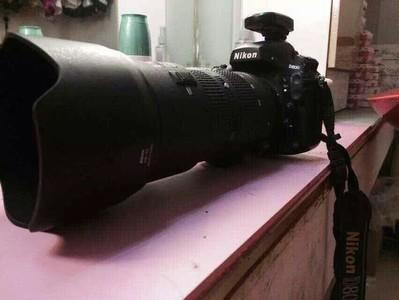尼康 D800  加尼康长焦镜头