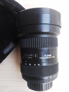 适马 12-24mm f/4.5-5.6 EX DG HSM(佳能卡口)