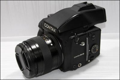 康泰时 Contax 645 Carl Zeiss 80/2.0 140/2.8 一机三头
