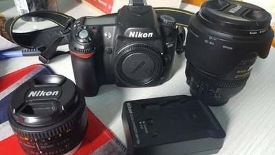 尼康D80相机16-85镜头50 1.8镜头,快门6千
