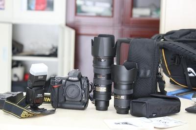 99新尼康 24-70mm f/2.8G ED,送99新SB800闪光灯