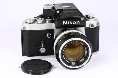 尼康 NIKON F2 + NIKKOR 50/1.4镜头 日产135胶片单反相机