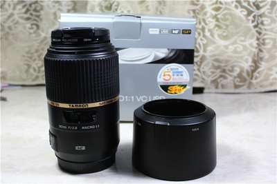 腾龙SP 90mm F2.8 Di MACRO 1:1 VC USD(佳能口)