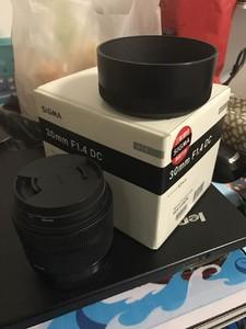 适马 30mm f/1.4 DC HSM(Art)佳能口