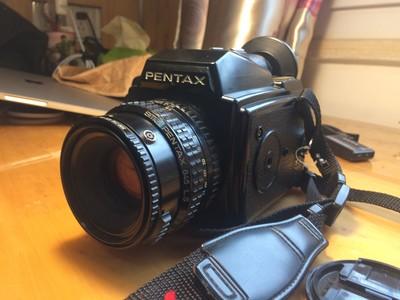 学生出售 Pentax 645胶片套机