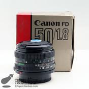 佳能 FD 50/1.8 Canon FD 50mm F/1.8 AE-1 胶片机 FD口#9291