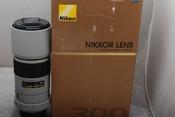 96新NIKON AF-S 300MM F4D 白色版带包装(欢迎议价,支持交换)