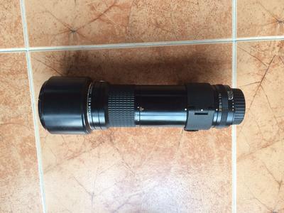 尼康老镜头 AIS400 F5.6 手动定焦长焦