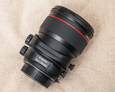 佳能 TS-E 24mm f/3.5L II 二代移轴镜头 包装说明书齐全