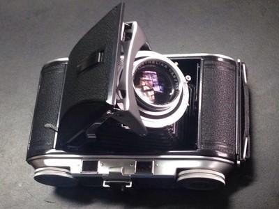 自藏 9新 福伦达 bessa II heliar 镜头,6X9 折叠机