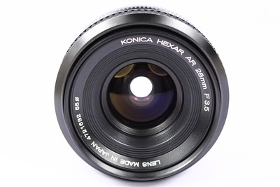 柯尼卡 Konica AR 28/3.5 日产 135手动镜头 AR口广角镜头