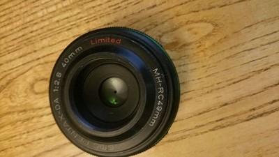 宾得 DA 40mm饼干 f/2.8 Limited