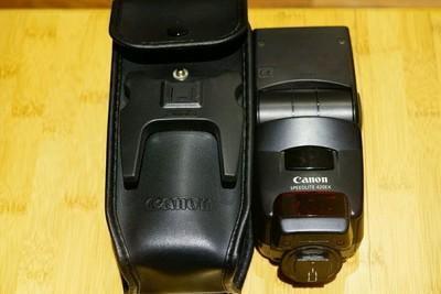 95新佳能 canon 420ex 闪光灯