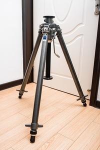 捷信 GITZO G410 4号 铝合金齿轮绞齿升降中轴三脚架