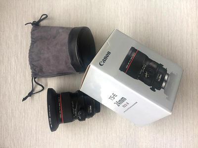 佳能 TS-E 24mm f/3.5L II  只试用3次,赠送配套300元UV镜一个