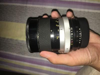 尼康手动镜头,135mm  F2.8  auto口