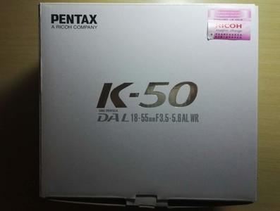 Pentax  宾得K50  DAL18-55WR套机
