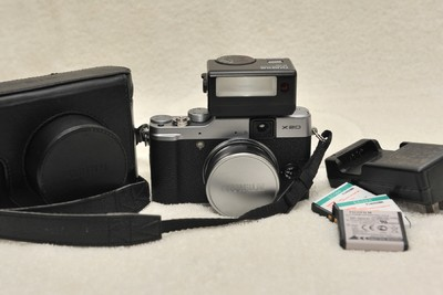 富士X20  EF-X20闪灯  原厂皮套
