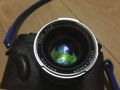 福伦达 VM 35 1.2 II 镜头 蔡司 徕卡 1.4